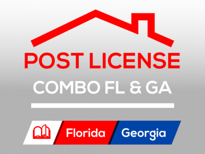 Post-License Course COMBO Florida & Georgia