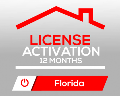 Activation of License for 12 months in Florida