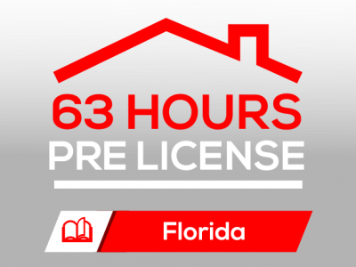 Course FREC I 63H Pre-License Real Estate Agent Florida